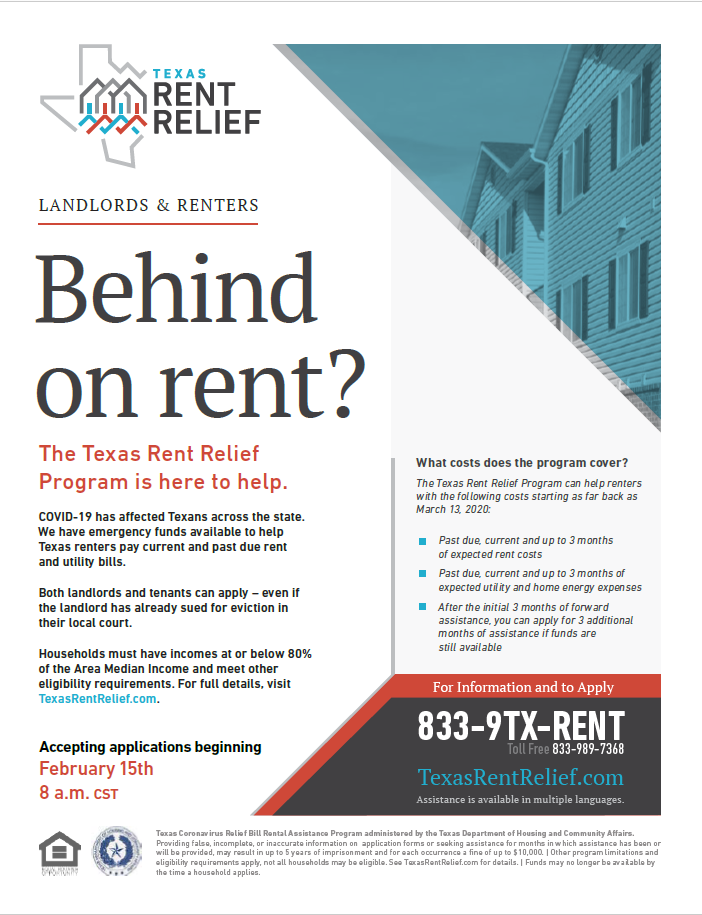 Rent Relief English